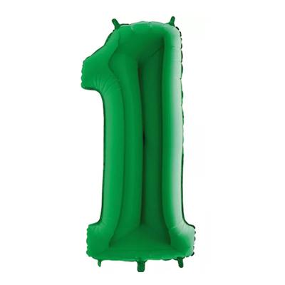 Número 1 - Verde