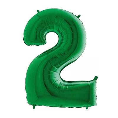 Número 2 - Verde