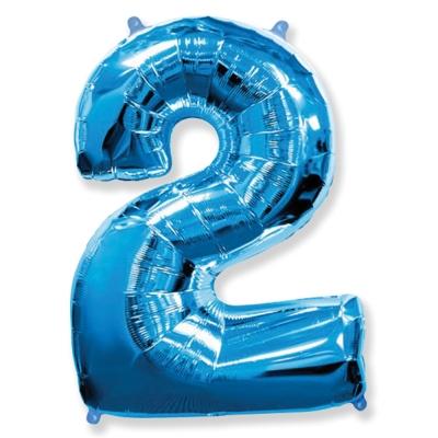 Número 2 - Azul