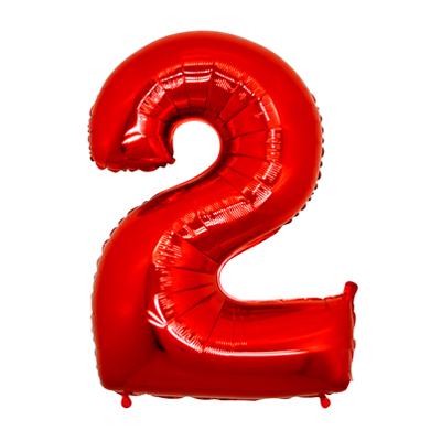 Número 2 - Vermelho