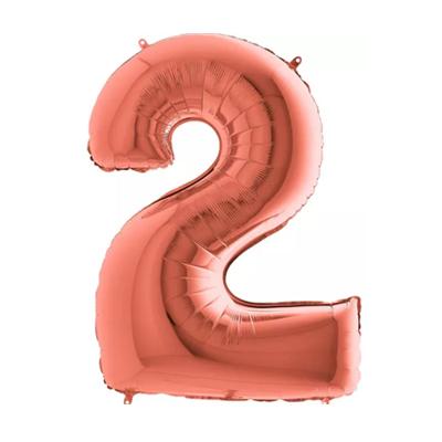 Número 2 - Rosé Gold