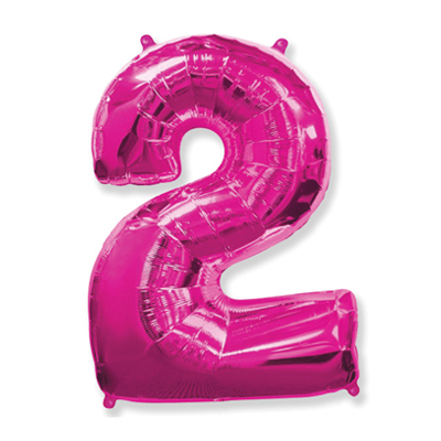 Número 2 - Pink